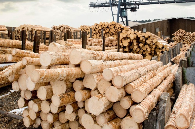 Industrie Holz